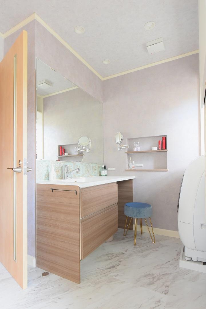 大阪戸建てリフォーム実例・洗面所